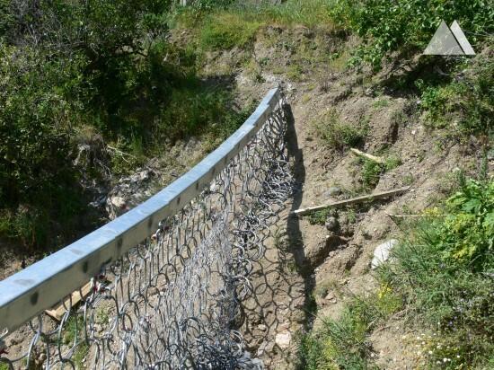 Giampilieri Superiore S.P. 33 (debris) 2010 - Geobrugg