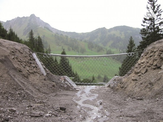 Protecţia împotriva torenţilor şi a alunecărilor superficiale - Schlucher Ruefe 2007
