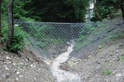 Spaniabach 2004 - Geobrugg