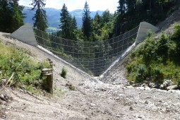 Huepach, cantón de Berna (Suiza) 2013 - Geobrugg