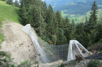 Huepach, Canton of Berne 2013 - Geobrugg