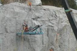 Minen und Bergbau - Mandai Quarry 2000