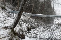 Kollobekken, Otta 2015 - Geobrugg