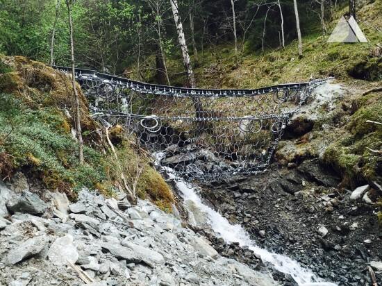 Селевые потоки и оползни - Kollobekken, Otta 2015