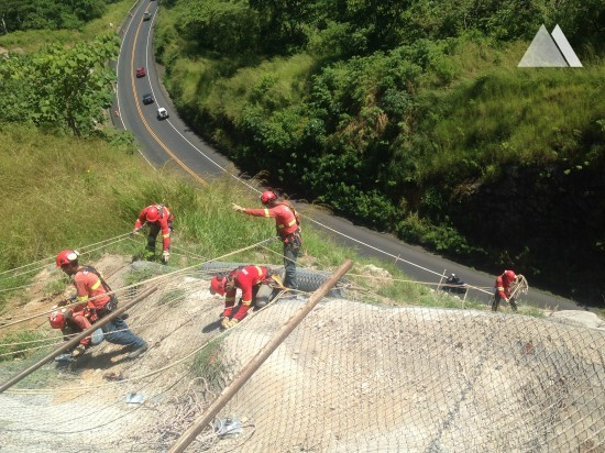San José Calderas Road 27, km 45.8 2015 - Geobrugg