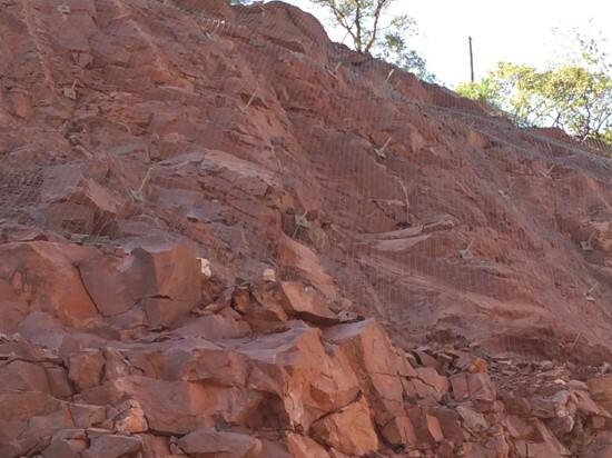 Loskopdam 2015 - Geobrugg