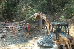 Quebrada La Melgara 2011 - Geobrugg