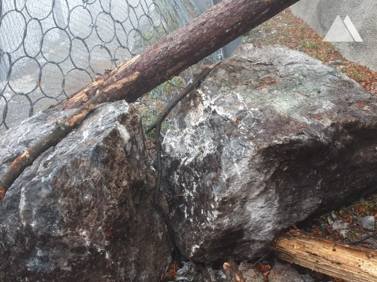 Rockfall Protection - Balmi-Tschuggen 2015