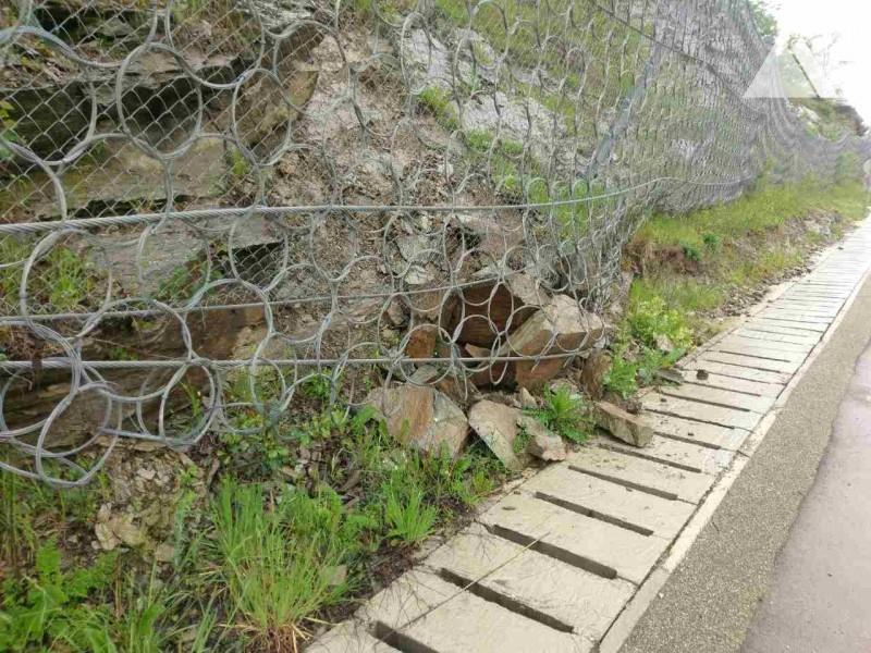 Road Grabovnica-Grdelica 2015 - Geobrugg
