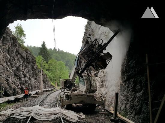 Tunel Kloštar 2015 - Geobrugg