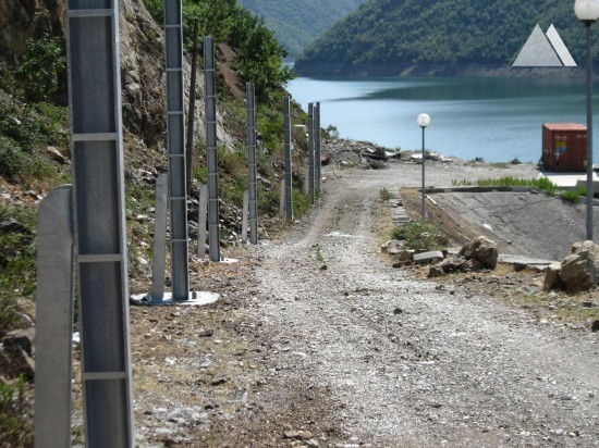 Fierza Hydroelectric Power Station #1 2014 - Geobrugg