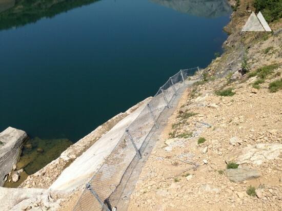 Fierza Hydroelectric Power Station #2 2014 - Geobrugg