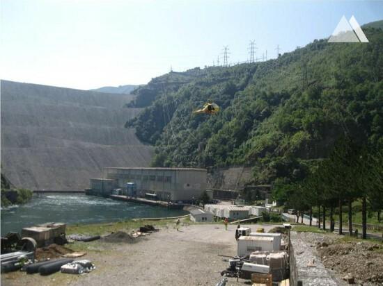Fierza Hydroelectric Power Station #3 2014 - Geobrugg