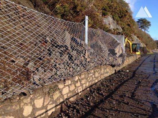 Wisemansbridge Pembrokeshire 2016 - Geobrugg