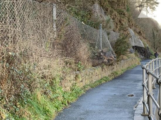 Steinschlagschutz - Wisemansbridge Pembrokeshire 2016