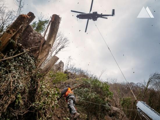 Kaya düşmesine karşı koruma - Trbovlje rockslide protection 2016