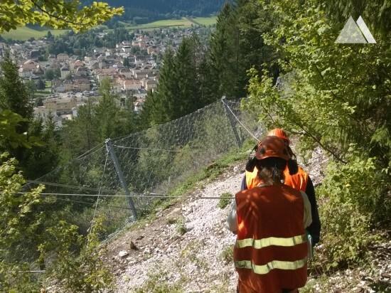Bôle Boveresse, Val de travers 2015 - Geobrugg