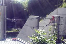 Groenbach torrent, Merligen, Canton of Bern 2013 - Geobrugg
