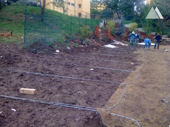 Estabilização de taludes - Rahovei 20, Cluj-Napoca 2013