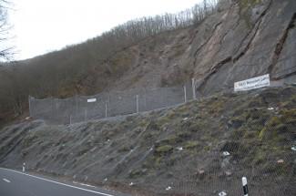 Carrière de Michelau N27 2014 - Geobrugg