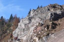 Schwarzenberg Murgtal Rappenriss 2015 - Geobrugg