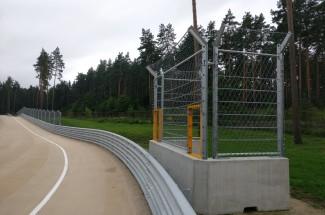 Circuitos e instalaciones de prueba - Bikernieku Trase - Marshal Post 2016