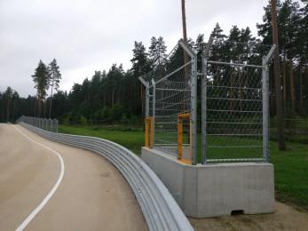 Bikernieku Trase - Marshal Post 2016 - Geobrugg