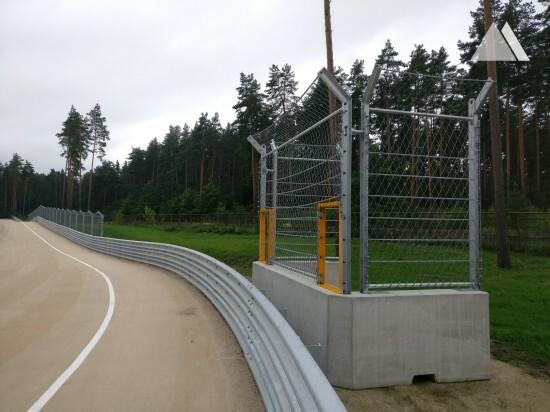 Yarış parkurları - Bikernieku Trase - Marshal Post 2016