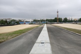 Test tracks and proving grounds - Bikernieku Trase - double sided concrete barrier 2016