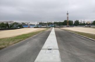试车跑道和试验场 - Bikernieku Trase - double sided concrete barrier 2016