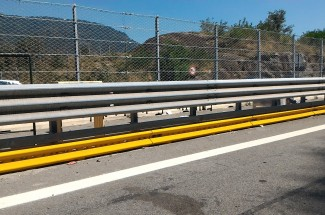Impact Protection - ATIVA - Highway Turin Aosta, Quissolo 2016