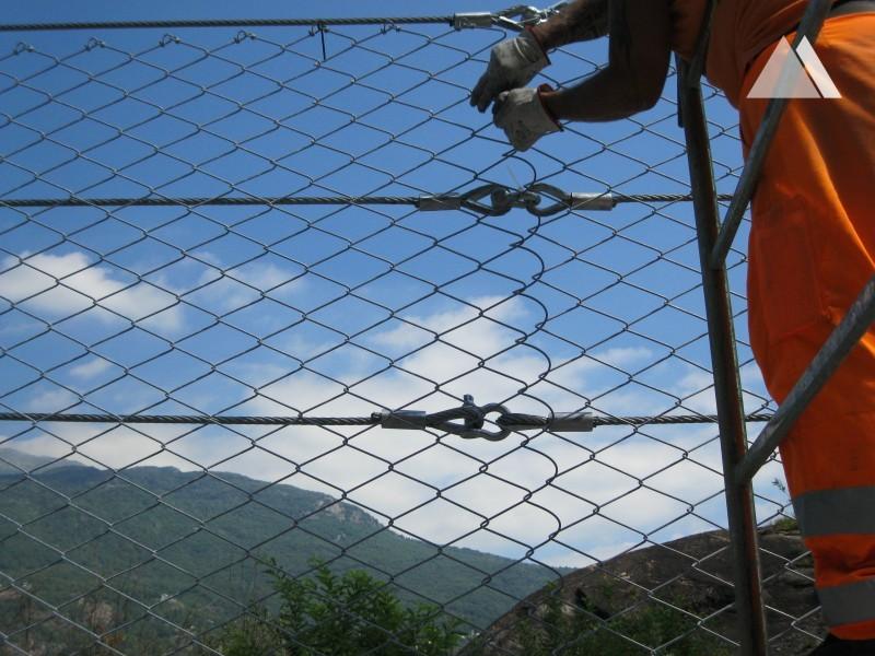 Защита от осколков при взрывах - ATIVA - Highway Turin Aosta, Quissolo 2016
