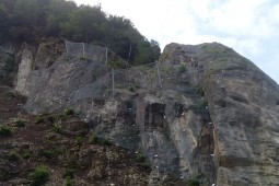 Mühlehorn, Highway A3, Glarus Nord 2015 - Geobrugg