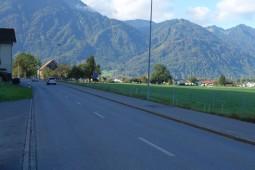 Schänis, State Road 17 2016 - Geobrugg