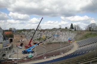 Limestone Stadium Bad Segeberg 2008 - Geobrugg