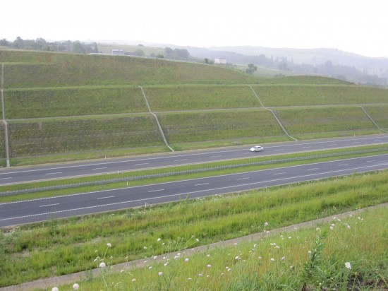 A1 Highway Pyrzowice-Piekary Śląskie 2011 - Geobrugg