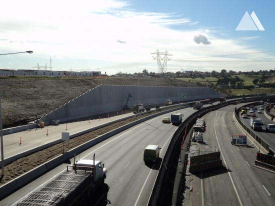 M80 Ring Road Upgrade 2011 - Geobrugg