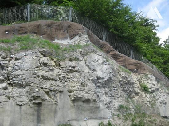 Hochwang Steige 2011 - Geobrugg