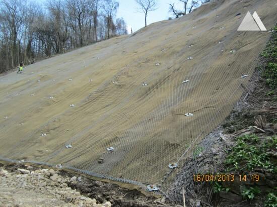 Wallgraben 2013 - Geobrugg