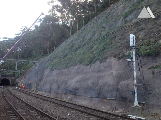 Stanwell Park Rail Corridor 2013 - Geobrugg