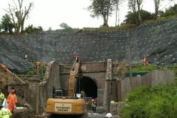 Beaminster Tunnel & Slopes 2013 - Geobrugg