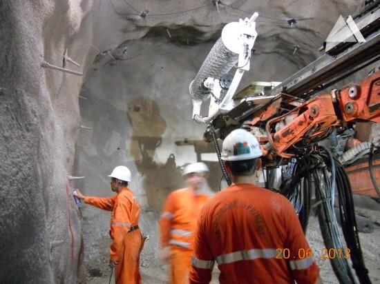 Hydroelectric Power Plant Tunnel 2014 - Geobrugg