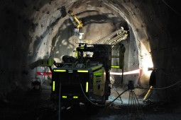 Exploitation minière / Tunnel - Codelco El Teniente Copper Mine 2016