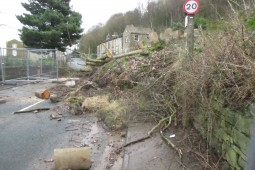 Scout Road in Mytholmroyd 2016 - Geobrugg