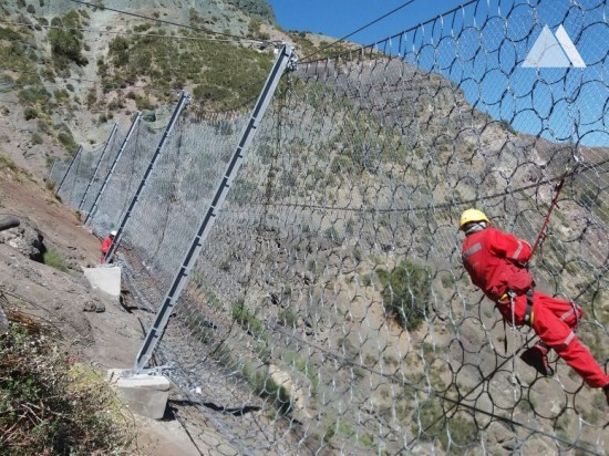 Rockfall Protection - Alto Maipo Surface 2016