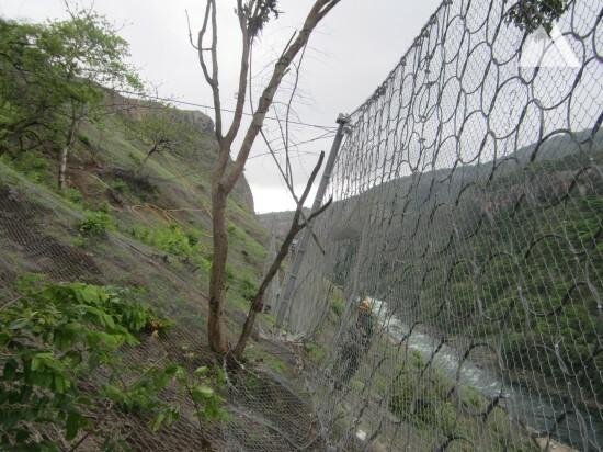 Böschungsstabilisierung - Laúca Hydro Power Plant 2017
