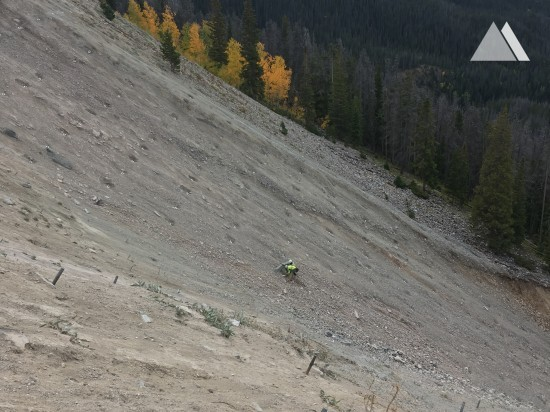 Rocky Mountain National Park Grand Ditch Slope Repair 2016 - Geobrugg