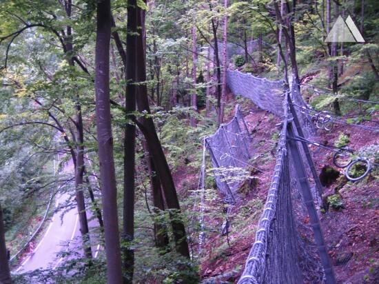 Gutenberger Steige 2007 - Geobrugg