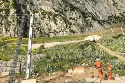 Protección contra caídas de rocas - Eastside Catchments Gibraltar 2017