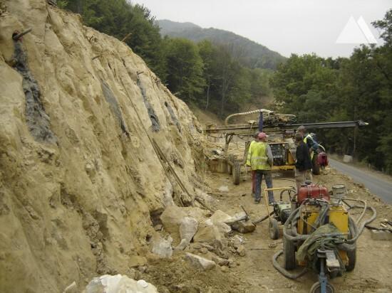 Mesteacan - National Road 1C 2011 - Geobrugg